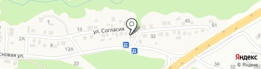 Троя на карте Ясной Поляны