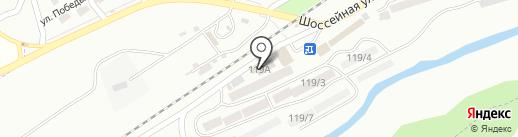 Семерочки на карте Ессентуков
