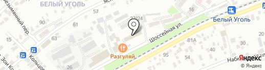 Старый Двор на карте Ессентуков
