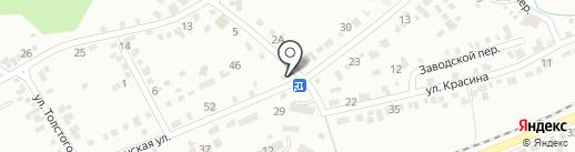 Бастион КМВ на карте Ессентуков