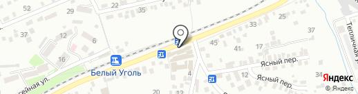 Перекур на карте Ессентуков
