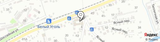 Банкомат, Московский индустриальный банк на карте Ессентуков