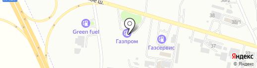 Газпром на карте Ессентуков