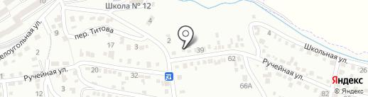 Техлукоморье на карте Ессентуков