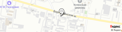 АвтоКлад на карте Ессентуков
