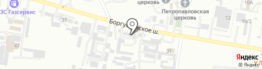 Комтранссервис на карте Ессентуков