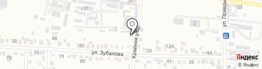 Дереwня на карте Ессентуков