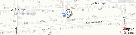 Супермаркет на карте Ессентуков
