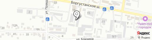 Автоателье на карте Ессентуков