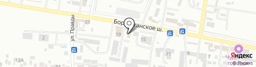 Алатырь на карте Ессентуков