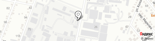Ессентукский молзавод на карте Ессентуков