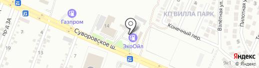 ЭКООИЛ на карте Ессентуков