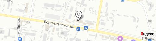 БИС-КМВ на карте Ессентуков