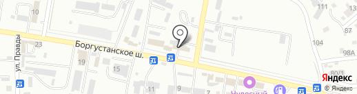 LadaDеталь на карте Ессентуков