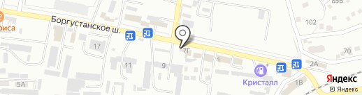Магазин автомасел на карте Ессентуков