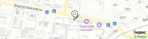 Гриасс на карте Ессентуков