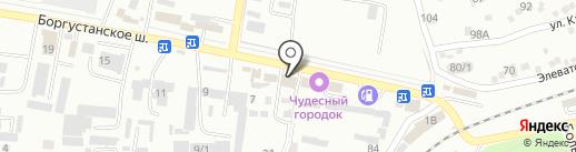 Магазин автозапчастей для ГАЗ и ВАЗ на карте Ессентуков
