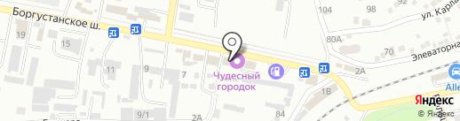 Корона на карте Ессентуков