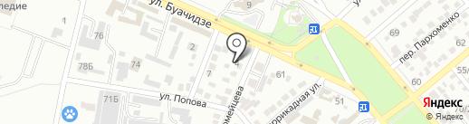 ЛЕГО-КИРПИЧ на карте Ессентуков