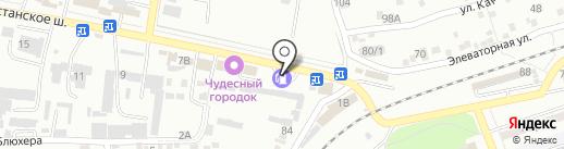 Кристалл на карте Ессентуков