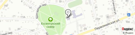 Детская библиотека №5 на карте Ессентуков
