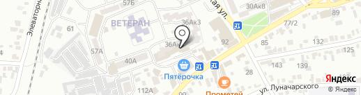 Женские штучки на карте Ессентуков