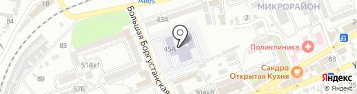 Спортивный клуб по вольной борьбе на карте Ессентуков