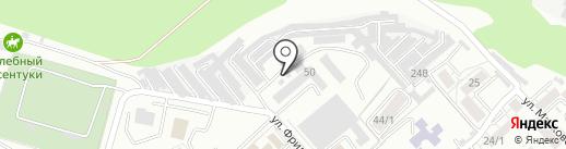 Универсал, ЗАО на карте Ессентуков