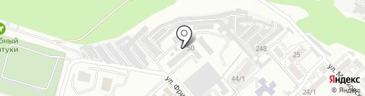 Сокол на карте Ессентуков