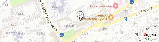 ЛеМакс на карте Ессентуков