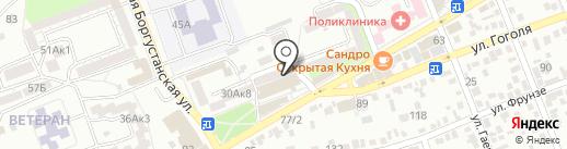 Диалог на карте Ессентуков