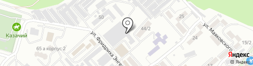 Алмаз на карте Ессентуков