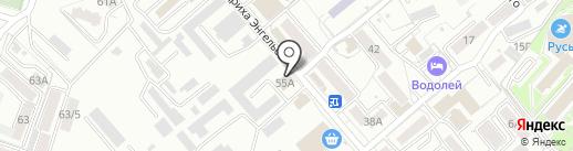 Мужская парикмахерская на карте Ессентуков