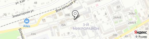 Мастер на карте Ессентуков
