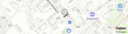 Шарм на карте Ессентуков