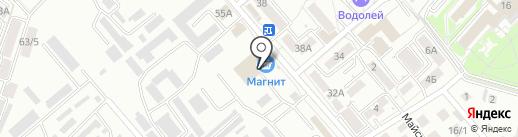 АТП курорта на карте Ессентуков