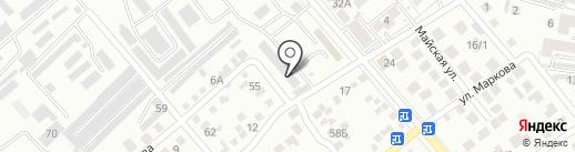 Магазин автозапчастей и автохимии на карте Ессентуков