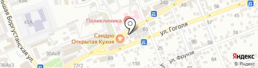 Ортопедия-Медтехника на карте Ессентуков