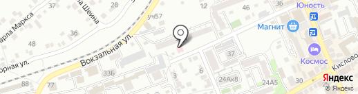 Северо-Кавказский федеральный научно-клинический центр на карте Ессентуков