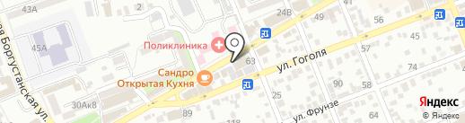 Банкомат, Банк Хоум Кредит на карте Ессентуков