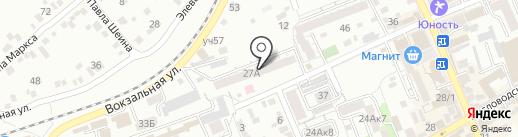 Эльт на карте Ессентуков