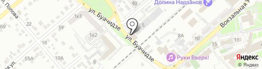 Чинар на карте Ессентуков