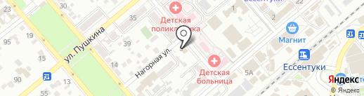 Марина на карте Ессентуков