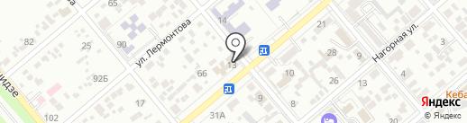 Столовая на карте Ессентуков