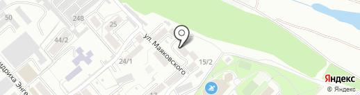 Ателье по пошиву и ремонту одежды на карте Ессентуков