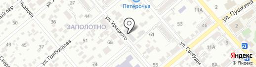 Весна на карте Ессентуков