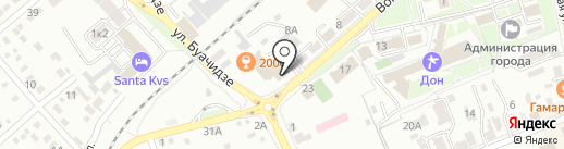 Сигнал на карте Ессентуков