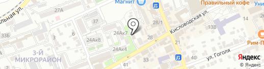 Волна на карте Ессентуков