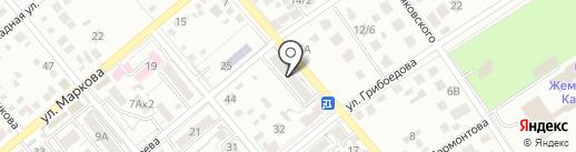Градент Н.В. на карте Ессентуков