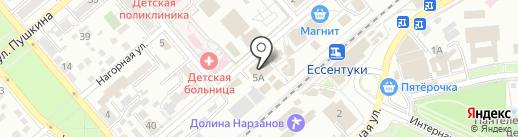 Гастроном на карте Ессентуков
